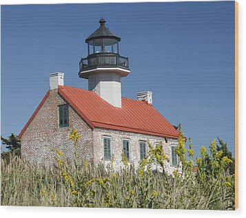 East Point Lighthouse Wood Print