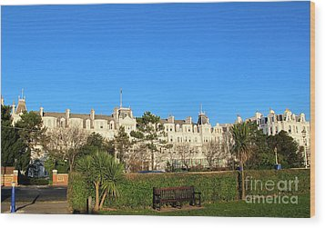 Eastbourne Grand Hotel Wood Print by Art Photography