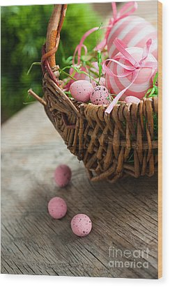 Easter Concept Wood Print by Mythja  Photography