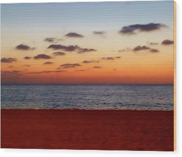 Wood Print featuring the photograph Easter Sunset by Amar Sheow