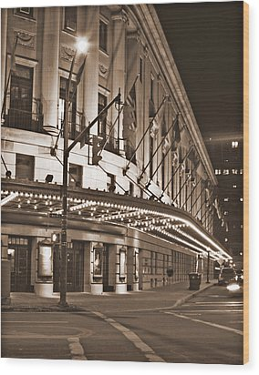 Eastman Theater Wood Print