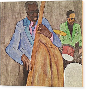 Easy Listening Wood Print by Lew Griffin