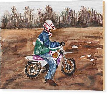Easy Rider Wood Print