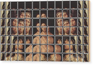 Ecce Homo 2 Wood Print by Elena Mussi