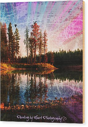 Echo Lake Wood Print