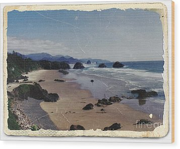 Ecola 1 Wood Print by Chalet Roome-Rigdon