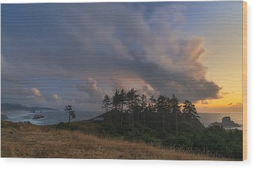 Ecola And The Oregon North Coast Wood Print by Ryan Manuel