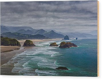 Ecola Viewpoint Wood Print