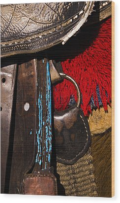 Ecuador Saddle Wood Print by Chad Simcox