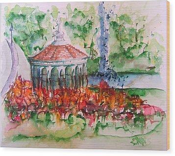 Eden Park Wood Print