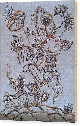 Edibles I Wood Print by Swati Panchal