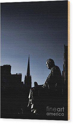 Wood Print featuring the photograph Edinburgh Royal Mile by Craig B