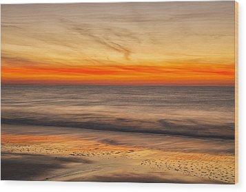 Edisto Beach Sunrise 10 Wood Print