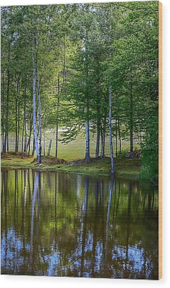Edson Hill Reflections Wood Print