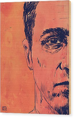 Edward Norton Fight Club Wood Print