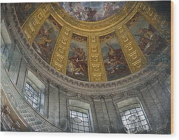 Eglise Du Dome Wood Print by Evie Carrier