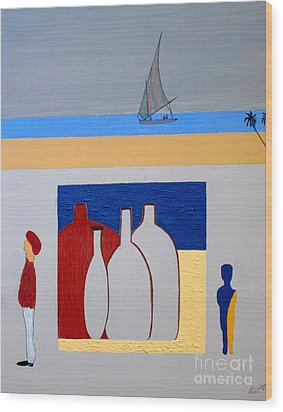 Egypt Afternoon Wood Print by Bill OConnor