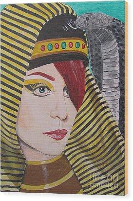 Egyptian Princess Wood Print