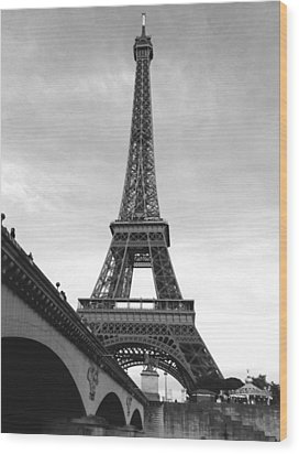 Eiffel Classic Wood Print