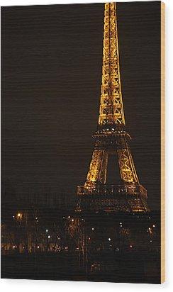 Eiffel Tower - Paris France - 011321 Wood Print by DC Photographer