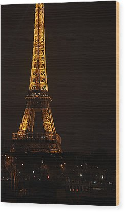 Eiffel Tower - Paris France - 011323 Wood Print by DC Photographer