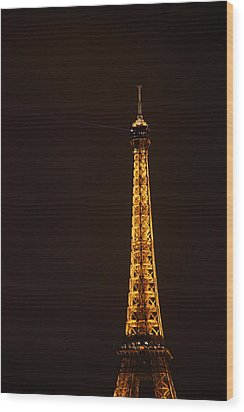 Eiffel Tower - Paris France - 011329 Wood Print by DC Photographer