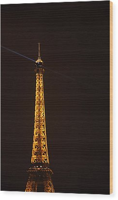 Eiffel Tower - Paris France - 011331 Wood Print by DC Photographer