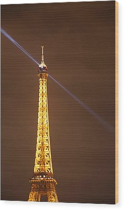 Eiffel Tower - Paris France - 011334 Wood Print by DC Photographer