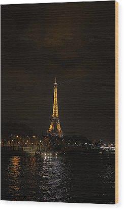 Eiffel Tower - Paris France - 011336 Wood Print by DC Photographer