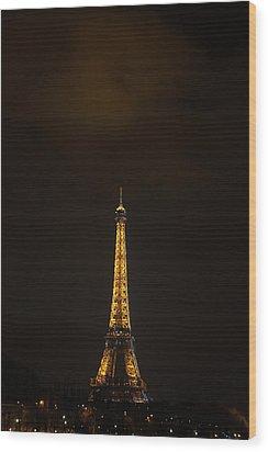 Eiffel Tower - Paris France - 011353 Wood Print by DC Photographer