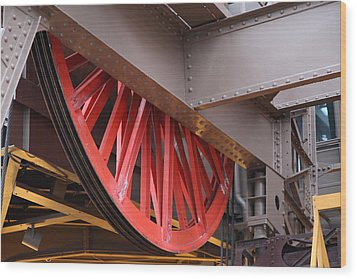 Eiffel Tower - Paris France - 01138 Wood Print by DC Photographer