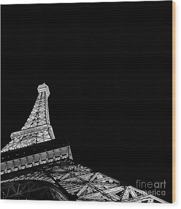 Eiffel Tower Paris Wood Print
