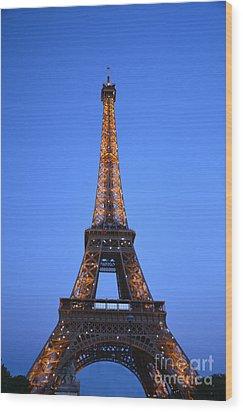 Eiffel Tower - Tour Eiffel Wood Print