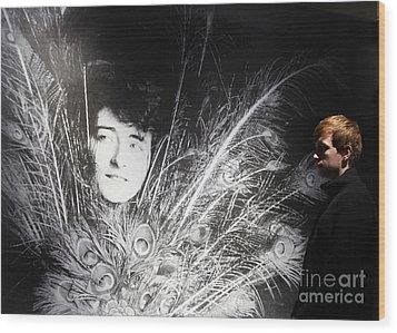 Eileen Gray Retrospective Imma Dublin Wood Print by Ros Drinkwater