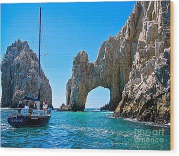 El Arco - Cabo San Lucas Wood Print