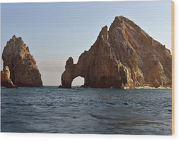 Wood Print featuring the photograph El Arco De Cabo San Lucas by Christine Till