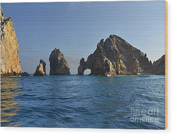 Wood Print featuring the photograph El Arco - The Arch - Cabo San Lucas by Christine Till