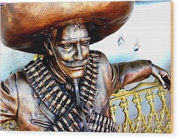 El Bandito Wood Print