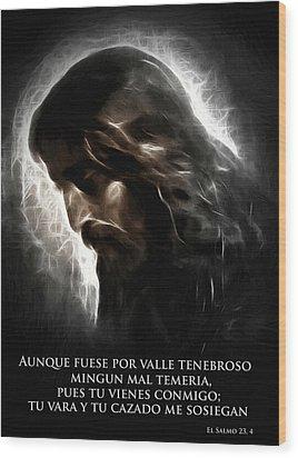 El Buen Pastor Wood Print by Steve K