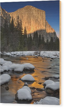 El Capitan Wood Print by David Orias