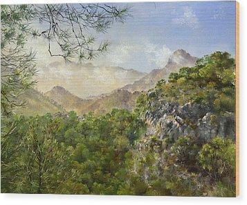 El Fuerte Wood Print by Margaret Merry