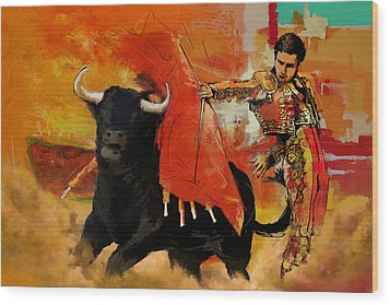 El Matador Wood Print by Corporate Art Task Force