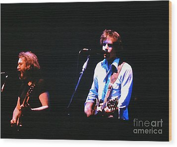 The Grateful Dead 1980 Capitol Theatre Wood Print