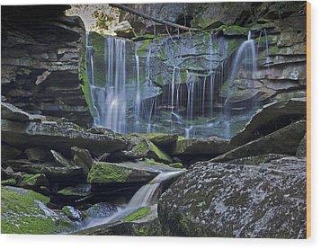Elakala Falls Number 1 Wood Print