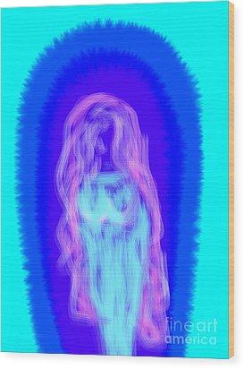 Electric Virgin Wood Print by James Eye