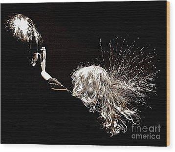 Electrifying Wood Print by Scott Allison