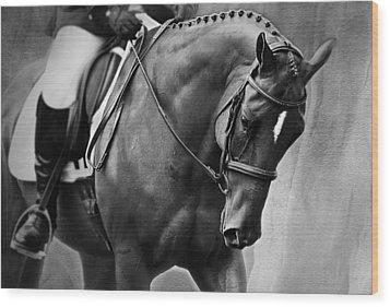 Elegance - Dressage Horse Wood Print