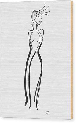 Eleganza Wood Print