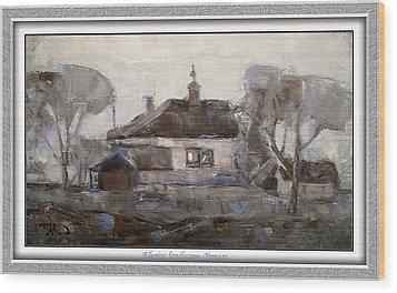 Elegiac Landscape Ell2 Wood Print by Pemaro