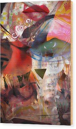 Elements Of Estrogen  Wood Print by Jerry Cordeiro